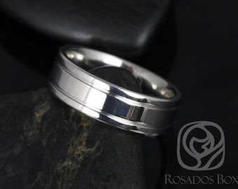 Rosados Box Jackson 7mm Cobalt Double Grooved High Finish Band