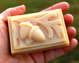 Acorn French Milled Handcrafted Goat Milk Gift Soap