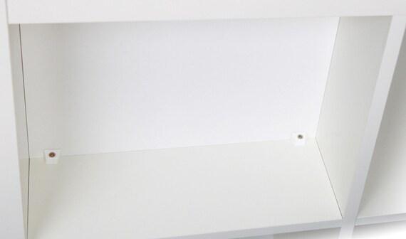 r ckwand f r ikea kallax regal schwarzbraun von newswedishdesign. Black Bedroom Furniture Sets. Home Design Ideas