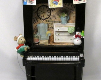 Little Mouse Piano Home