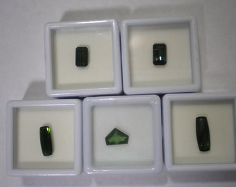 Loose Green Tourmaline Pick a Gem One Carat Plus Each