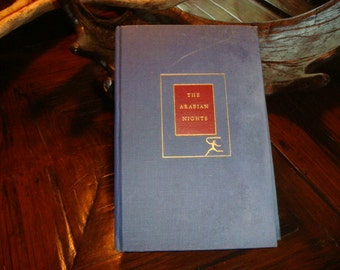 1959 The Arabian Nights Book Tales Tales Sharazah  Book of Thousand Nights and a Night