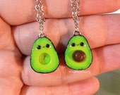 MADE TO ORDER Avocados Friendship Love Necklaces