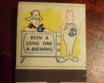Unused Grain Belt Beer Matchbook, Grain Belt Beer Matchbook, Never Used   (T)