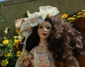 vintage french doll