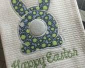 Easter Tea Towel - Easter Dish Towel - Waffle Weave Dish Towels - Waffle Weave Tea Towels - Waffle Weave Kitchen Linens