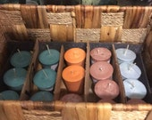 3 Custom Wax, Scent and Color Votive Candles (15-Hour)