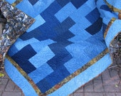 Custom Denim Lap Quilt for NANCY - Down payment listibng