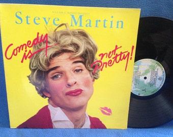 "Vintage, Steve Martin - ""Comedy Is Not Pretty"", Vinyl LP, Record Album, Original 1979 Press, Comedy, Born To Be Wild, Saturday Night Live"