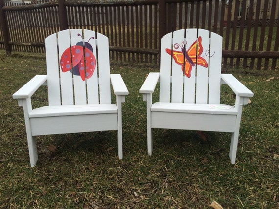 Custom Adirondack Chair Child Size Chair By CarlsonWoodshop