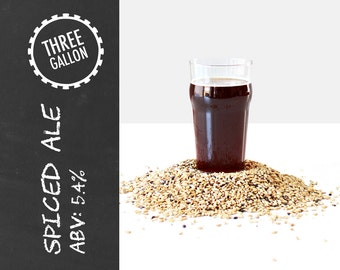 Spiced Ale 3 Gallon Beer Recipe Kit
