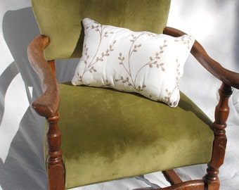 Velvet Green Rocking Chair