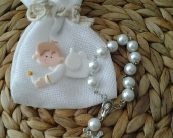 First Communion Favor -  Rosary Favors