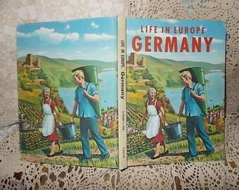 Life in Europe Germany/Gerhart Heinrich Seger /1966 Not included in Any Coupon Sale S