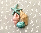 RESERVED HA Starfish & Shells - Ceramic Tiles