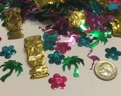 Luau confetti mix, 13 -45 mm (4)+