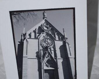 Photo Card, Loretto Chapel, Santa Fe New Mexico