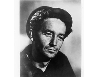 Woody Guthrie Photograph 8 by 10 Inches
