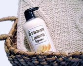 Lemon Lotion - Body Butter in a Pump Bottle - Vegan Lotion with Organic Ingredients - 8oz.