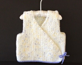 So Sweet Seed Stitch Toddler Kimomo Sweater Vest, 18-24 months