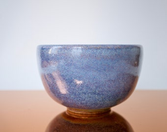 SALE Ceramic pale purple bowl