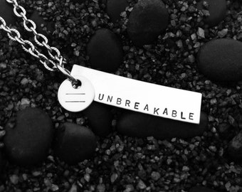 UNBREAKABLE Equality Stainless Steel Necklace