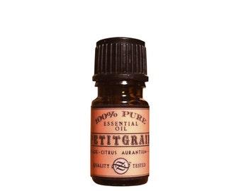 Petitgrain, Bigarade Essential Oil. Citrus Aurantium, Italy - 5 ml