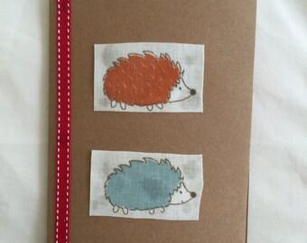 Hedgehog Greetings Card (Blank)