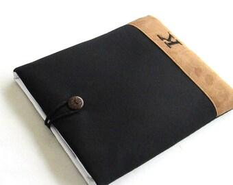 Monogrammed iPad Case, Personalized iPad Case, iPad Sleeve with Pocket, Initials iPad Case, Custom iPad Case.