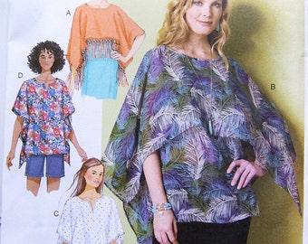 Butterick 6356 uncut summer pattern size XS - Medium womans blouse