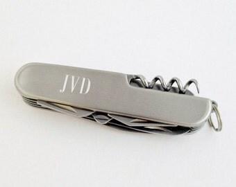 Groomsmen Gift - Pocket Knife for Groom, Best Man, Father of the Bride