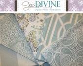 Spa Blue Curtain Panels, 2 panels, Blue curtain panels
