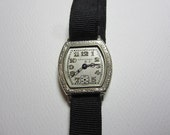 RESERVED: Vintage Longines 14k White Gold Ladies Watch non working