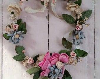 Romantic Vintage Flower Adornment