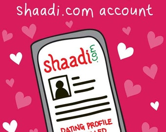 I Cancelled My Shaadi Account Valentines / Love Card