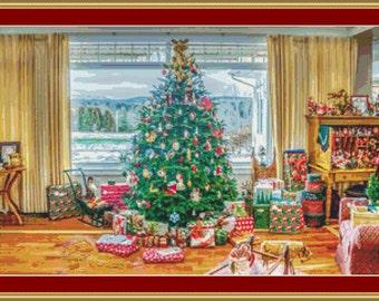 Christmas Time Cross Stitch Pattern