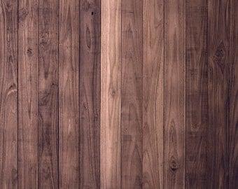 Warm Tone Wood - Vinyl Photography Backdrop Floordrop Prop