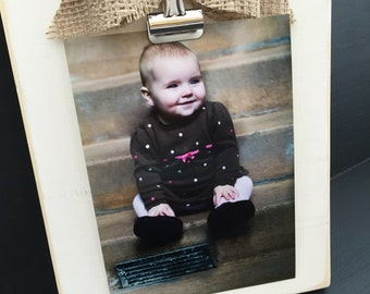 5x7 distressed wood picture frame