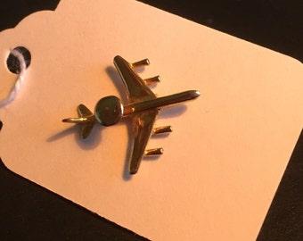 Vintage AWACS Tie Tack Lapel Pin Necktie Pin