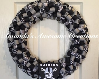 Raiders Football Wreath2