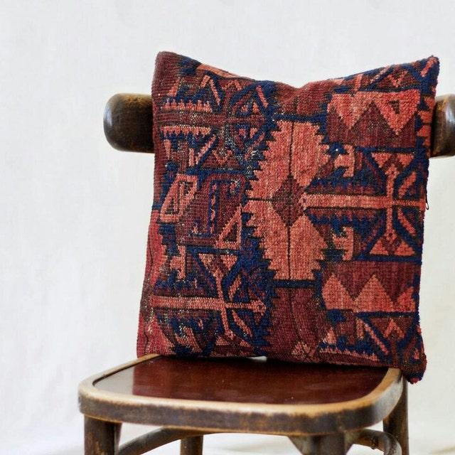 Uzbek Ikat Silk Rug Pillows And Russian Shawls By