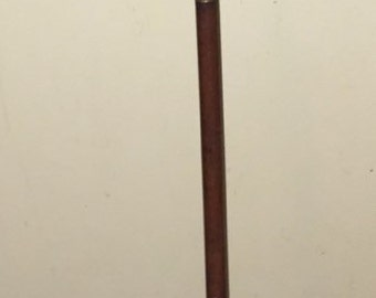 ANTIQUE SHOTGUN Cleaning Rod Three Part Wooden and Brass Gun Rifle Cleaner Victorian