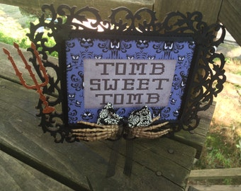 Haunted Mansion Tomb Sweet Tomb Sign