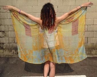 Funky Gypsy Batwing Vest B013