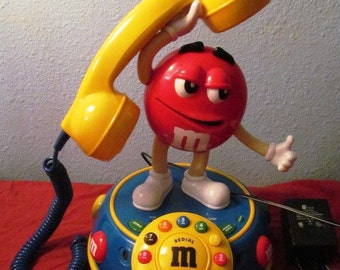 Vintage M&M Telephone with Voice Activation Speaker Telephone