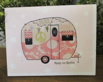 Keep on Rolling Birthday Card - FREE SHIPPING