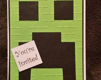 Minecraft Invitations