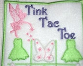 Felt Tic Tac Toe, Fairy Game, Felt Quiet Game, Tic Tac Toe Game, Carry Along Game, Travel Game, Canadian Made, Games for Kids Toys and Games