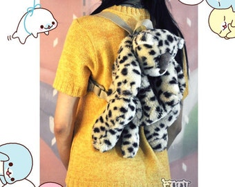 cheetah cartoon backpack