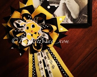 Bee Baby Corsage Mommy To Be Pin Cute As Can Theme